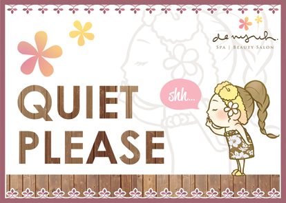 keep quiet FO